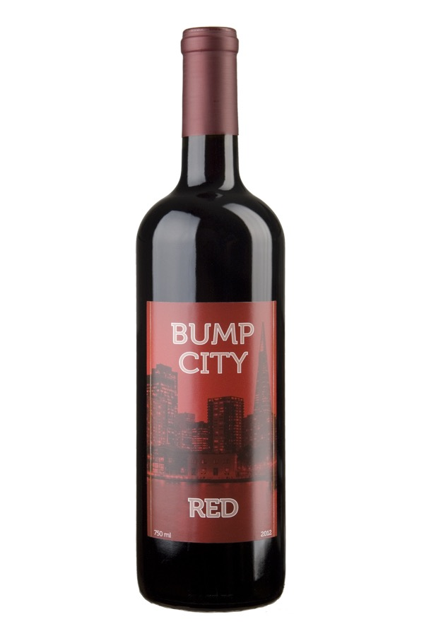 Bump City Red is a Rhone-style wine.