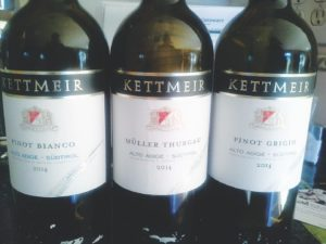 Three whites from Kettmeir Estates