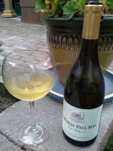 Chateau Paul Mas Belluguette 2013 is a white blend that charms the palate.