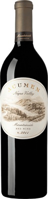 Acumen Mountainside Cabernet Sauvignon 2013, Napa Valley, $60 -- Tough to find but worth it, considering that more famous top-tier Napa Valley Cabs cost twice as much.