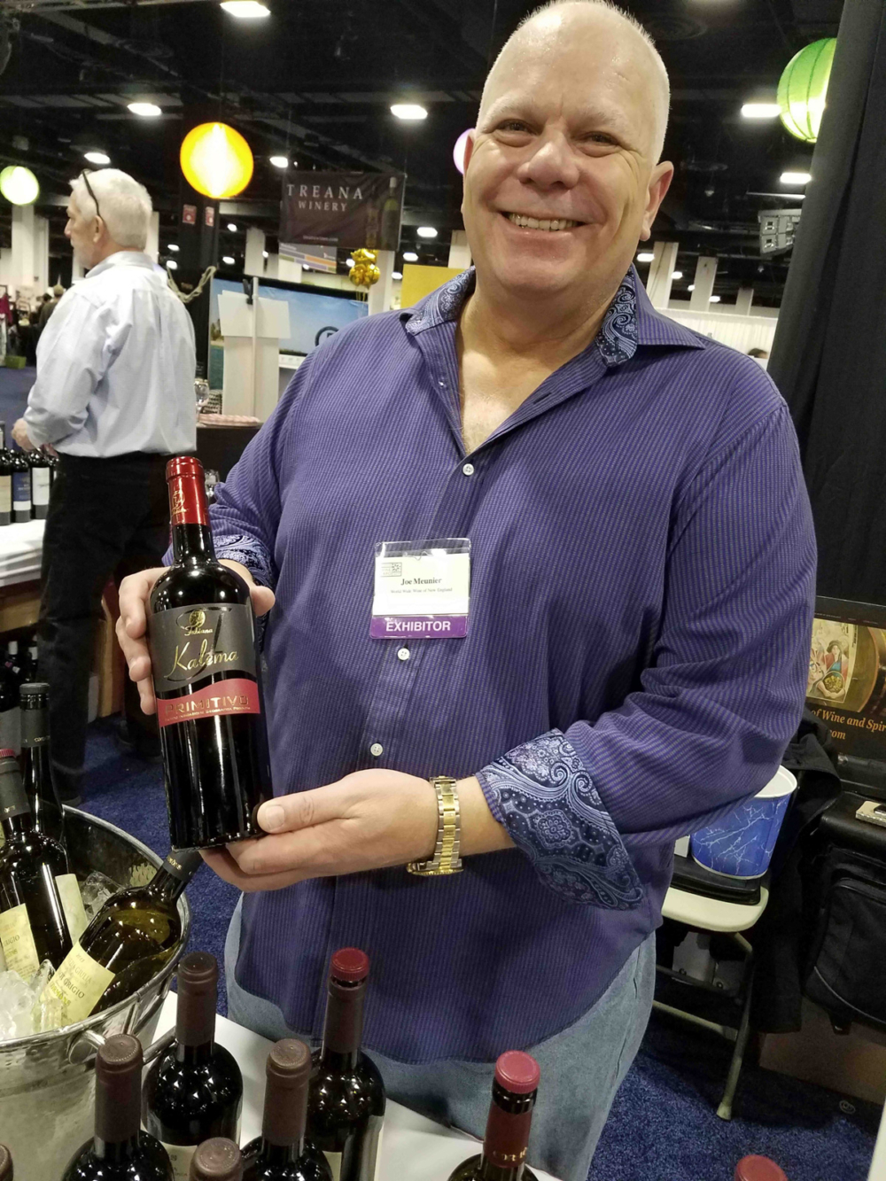 Some of the wines former trucker Joe Meunier, distributes through his company, World Wide Wine of England, include, Fabiana Kalema Primitivo Salento IGT 2012, Cormons Schioppettino Collio DOC 2013, and Gino Alteo Amarone della Valpolicella Classico 2010.
