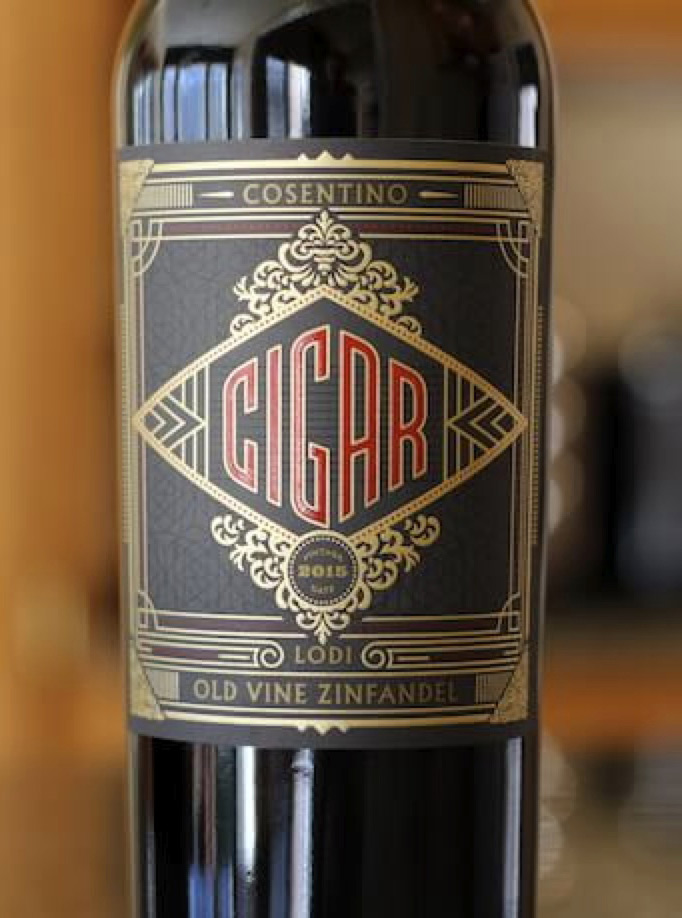 Cigar Old Vine Zinfandel from California winemaker Marty Peterson