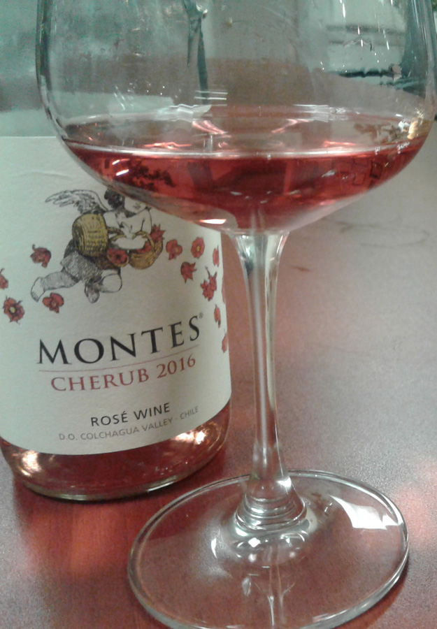 Montes Cherub Rosé 2016, Chile